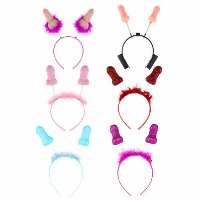 Fityle Hen Night Party Funny Willy Wand Penis Headband Hair Band Night Favour#64