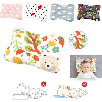 Cotton Baby Infant Baby Pillow for Newborn Breathable Cool Air Mesh Organic USA