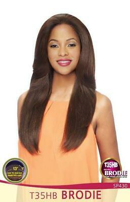 Vanessa 100% HH Blend Lace Front Wig Style Brodie