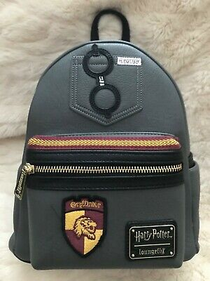 Loungefly Harry Potter Tattoo All Over Print Mini Backpack New In Stock 70 00 Picclick