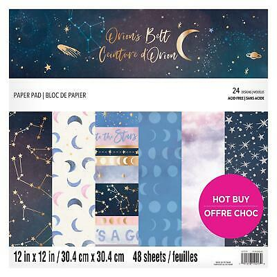 Craft Smith Design-Papierblock 30,4 x 30,4cm (48 Blatt) - Orion's Belt