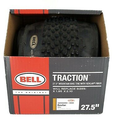 """Bell Traction 27.5/""""  Mountain Bike Tire with Kevlar Fiber"""