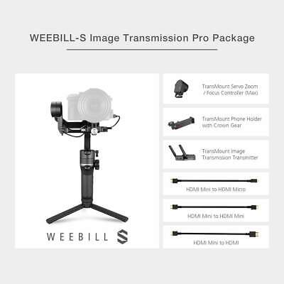 ZHIYUN WEEBILL-S 3-Axis Gimbal Stabilizer (Image Transmission Pro Package) - US