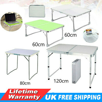 Aluminum Camping Catering Heavy Duty Folding Trestle Table For BBQ Picnic Party