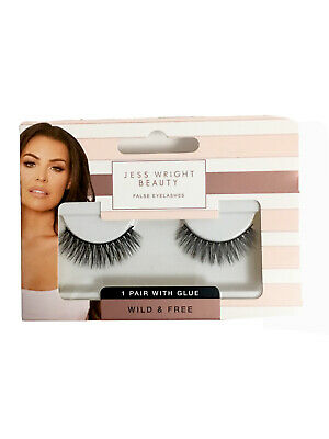 Bnib Jess Wright Beauty Vibey False Eyelashes With Glue 1 99 Picclick Uk