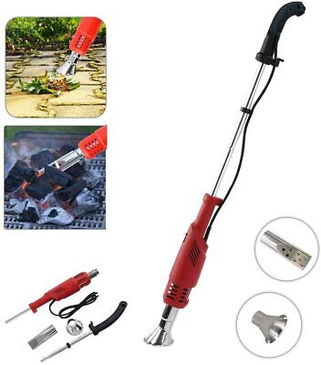 2000W Electric Weed Burner Weed Killer Remover Wand Hot Air Blaster Torch Red Uk