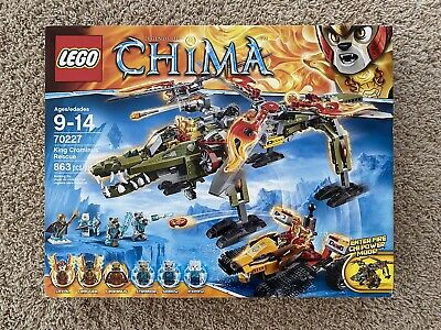 LEGO Chima KING CROMINUS/' RESCUE Replacement STICKER SHEET Set #70227  NEW