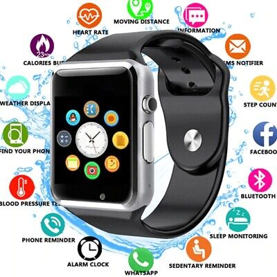 Smart Watch For Children Android Bluetooth Waterproof Safe Camera Call Kids Sim