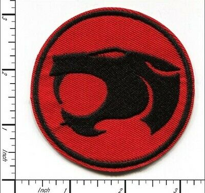 """LOT THUNDERCATS IRON ON PATCHES 3 1//2"""" X 3"""" 12"""