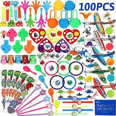 nicknack Lucky Dip Prizes for Kids,100PCS Birthday Party Bag Fillers Toy