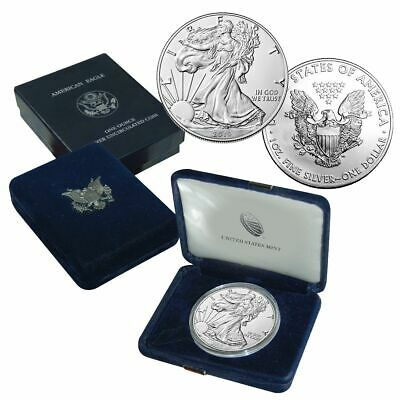 2019-S  American Proof Silver Eagle 1 oz Coin w/ COA and all packaging