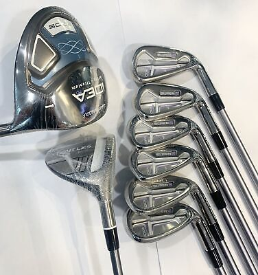 NEW Adams Women's Starter Set/ Super S Irons, Tight Lies Fairway & Idea Driver