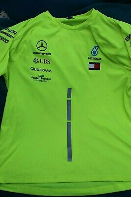 Mercedes Petronas Tommy Hilfiger set up shirt