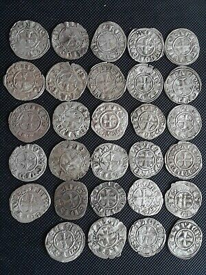 Crusader templar starter collection 29 silver coins 1200's byzantine period