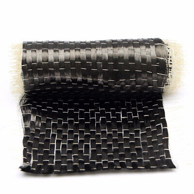"12K 200G 10*100cm Carbon Fiber 12k Uni directional Cloth Fabric Tap 4"" wide 200G"