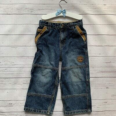 Boys 3 Years 3 T - Jeans - TIMBERLAND Blue Relaxed Fit Adjustable Waist