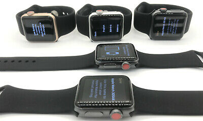 Apple Watch Series 3 (38MM / 42MM)Aluminum Case Blac GPS+LTE Cellular All Color
