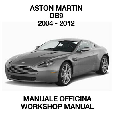 MANUALE OFFICINA ASTON MARTIN DBS-DBS VOLANTE 2008-2011 WORKSHOP MANUAL SERVICE