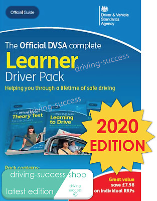 Official DVSA Learner Driver Pack for Car Theory Test & Practical Test 2020