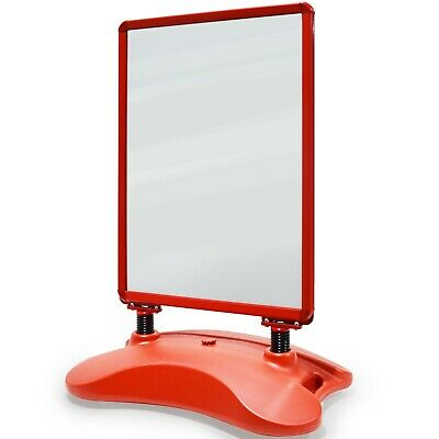 Customer stopper Poster Advertising Pavement Display Sign Frame A-Board Stand