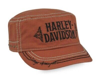 Black PC33830 Harley-Davidson Women/'s RWB #1 Wings Adjustable Back Painters Cap