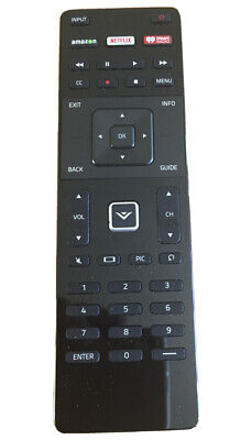 New USBRMT Replaced XRT122 Smart TV Remote For Vizio Amazon/Netflix/iHeart Key