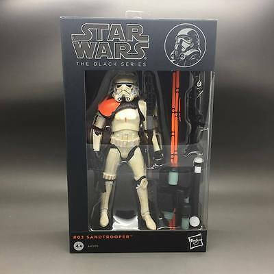 Star Wars the Black Series #10 Sandtrooper 6 inch Action Figure Toy Xmas Gift