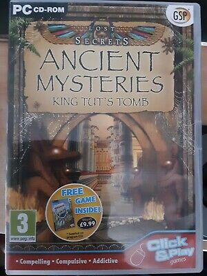 Lost Secrets: Ancient Mysteries King Tut's Tomb  (PC CD), Free Postage  A11