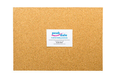 Self Adhesive Cork Sheet A4 1.5mm Thick (1 Sheet)  Buy 3 get one Free