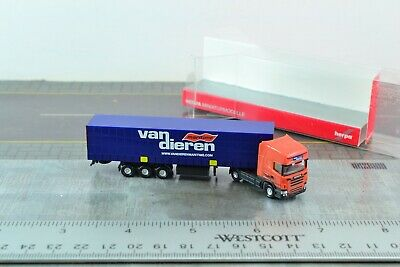 Herpa Scania  R 13 TL Sattelzug Trucker Babes Lechner Trans Pink Lady 1:87 H0