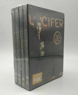 Lucifer: Complete Series, Seasons 1-4 DVD Fast shipping