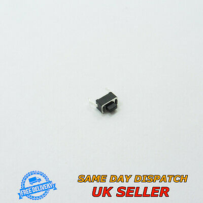 NEW PCB Mount Switch Key//Push Button ITT Cannon D6R10LFS Round Grey Tactile