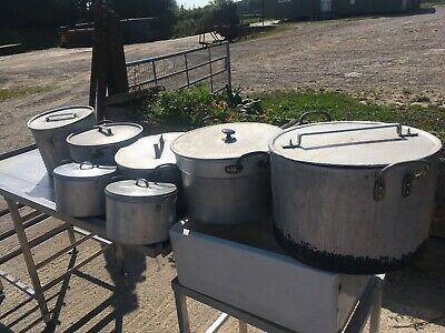 Job Lot Of catering pots and pans