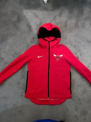 NIKE NBA CHICAGO BULLS DRY FLEX HOODIE JACKET SIZE MED 8-10 Years Worn Once