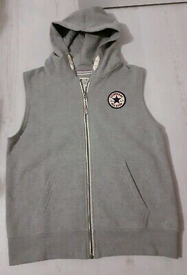 Boys Converse Sleeveless Hoodie Age 12-13 Years