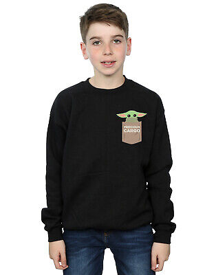 Star Wars Boys The Mandalorian The Child Cargo Pocket Sweatshirt