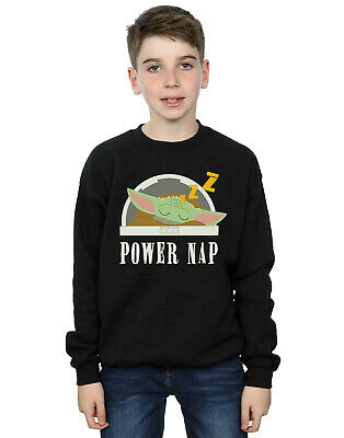 Star Wars Boys The Mandalorian Power Nap Child Sweatshirt