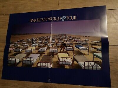 Pink Floyd The Later Years - Delicate Sound Of Thunder Tour Poster from Box Set