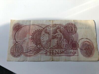 old 10 shilling note