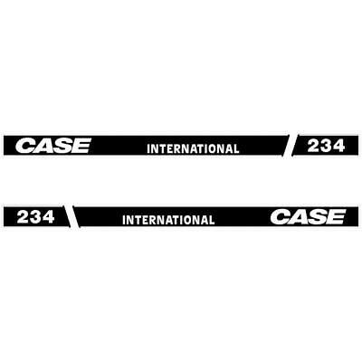 decals 674 etc All Models Available International Tractor Bonnet stickers
