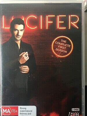 LUCIFER - Season 1 3 x DVD Set AS NEW! Complete First Series One