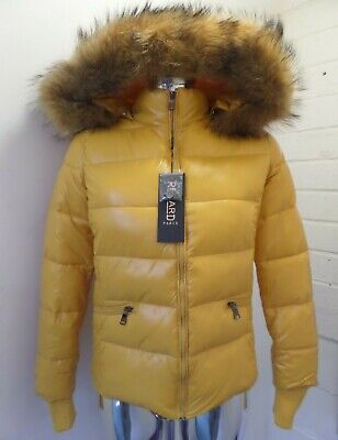 Ladies Womens Quilted Puffer Bubble Padded Warm Fur Hooded Thick Coat Jacket 816