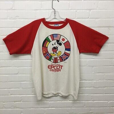 Vintage 1982 Mickey Mouse Epcot T Shirt Size Large