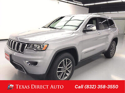 2019 Jeep Grand Cherokee Limited Texas Direct Auto 2019 Limited Used 3.6L V6 24V Automatic 4WD SUV