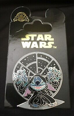 Disney Pin Stitch as the Evil Emperor Star Wars Mystery Collection