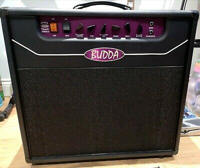 BUDDA Superdrive 45 Valve Combo Amp + Cover + Foot-switch Marshall