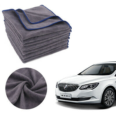 10x Detailing Cleaning Car Soft Cloths Large Microfibre Ultra Absorbant 40x40cm