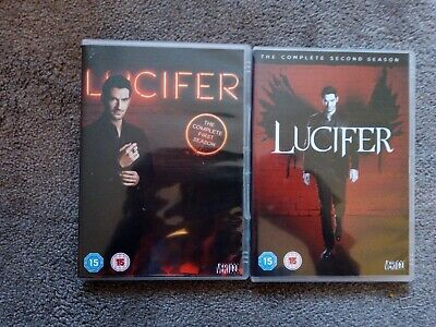 Lucifer DVDs season 1 & 2