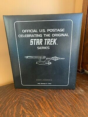 Star Trek Stamp Collection US Postage Binder