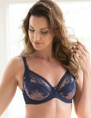 Charnos Suzette Balcony Bra 1490040 Non-Padded Underwired Lingerie Womens Bras